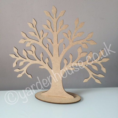 Free standing tree 2, 3mm MDF, 25cm high